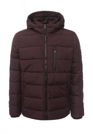 Куртка утепленная Burton Menswear London. Цвет: бордовый