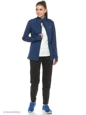 Куртка LITE-SHOW WINTER JACKET ASICS. Цвет: синий