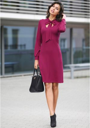 Платье MY STYLE. Цвет: пурпурный