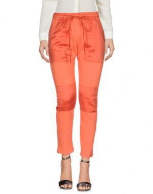 Повседневные брюки MR & MRS Italy. Цвет: оранжевый