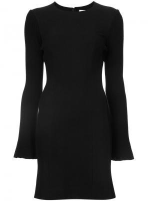 Приталенное платье с длинными рукавами Derek Lam 10 Crosby. Цвет: чёрный