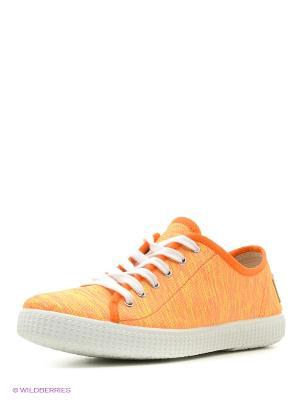 Кеды El Tempo. Цвет: оранжевый
