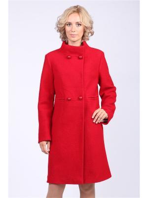 Пальто Almatti. Цвет: красный