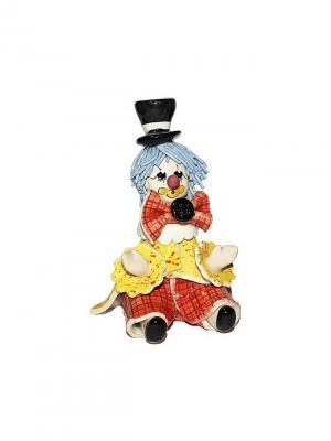 Статуэтка Клоун Zampiva. Цвет: желтый, красный, черный