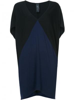Oversized panel blouse Zero + Maria Cornejo. Цвет: чёрный
