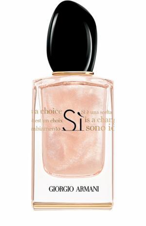 Парфюмерная вода Si Nacre Edition Giorgio Armani. Цвет: бесцветный