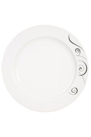 Тарелка обеденная, 24см KAHLA. Цвет: белый