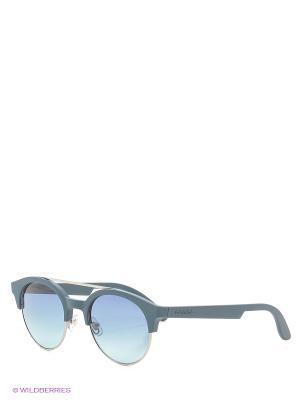 Солнцезащитные очки CARRERA. Цвет: черный, синий