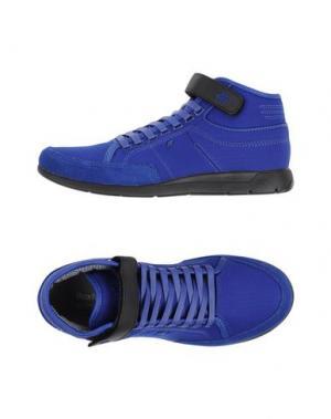 Высокие кеды и кроссовки BOXFRESH. Цвет: ярко-синий