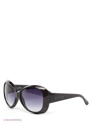 Солнцезащитные очки GF Ferre. Цвет: темно-коричневый, синий