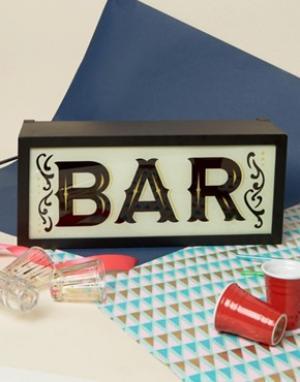Temerity Jones Bar Light Box. Цвет: мульти