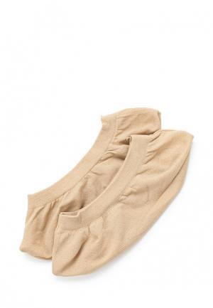 Комплект носков 2 пары OVS. Цвет: бежевый