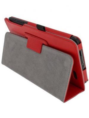 Обложка skinBOX standard для планшета Asus MeMO Pad ME172V. Цвет: красный