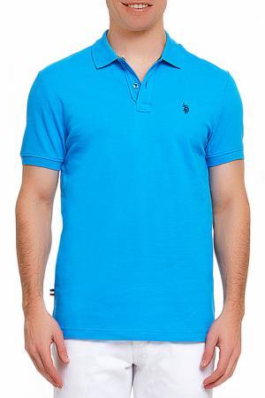 Футболка U.S. Polo Assn.. Цвет: 314 голубой