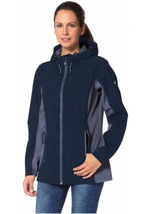 Куртка Softshell POLARINO. Цвет: темно-синий