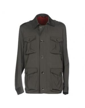 Куртка HEVÒ. Цвет: свинцово-серый