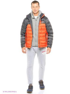 Куртка GREENLAND Jack Wolfskin. Цвет: оранжевый