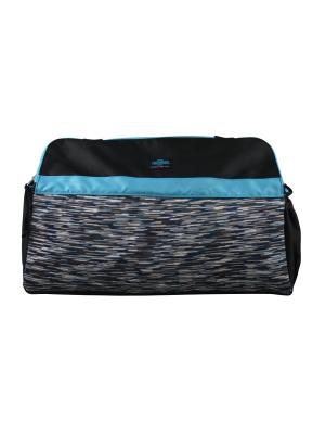 Сумка- термос тм THERMOS Studio Fitness yoga bag-blue. Цвет: синий