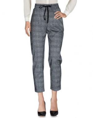 Повседневные брюки TENSIONE IN. Цвет: черный