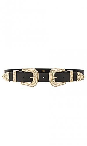 Пояс bri B-Low the Belt. Цвет: черный