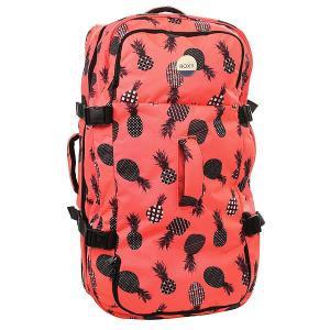 Сумка дорожная женская  Long Haul 125 L Ax Neon Grapefruit Roxy. Цвет: оранжевый,черный