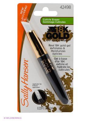 Sally Hansen 18К GOLD, средство для пилинга. Цвет: белый