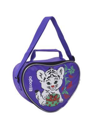 Сумка детская CAGIA. Цвет: фиолетовый