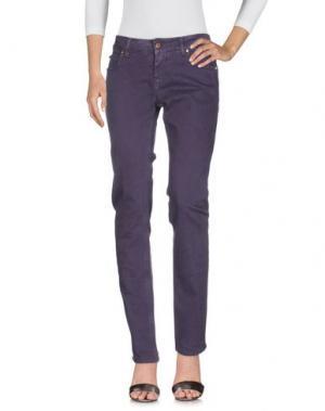 Джинсовые брюки CYCLE. Цвет: фиолетовый