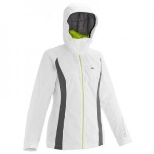Женская Утепленная Куртка Белого Цвета Для Катания На Беговых Лыжах Nordic 50 QUECHUA
