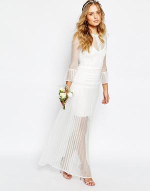 Body Frock Платье с колокольчиками Bridal. Цвет: белый