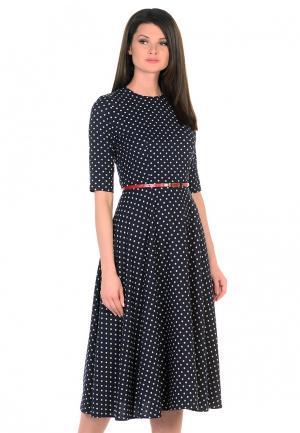 Платье Maison de la Robe. Цвет: синий