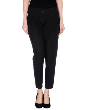 Повседневные брюки ROBERTA SCARPA. Цвет: стальной серый