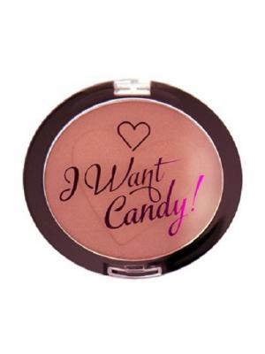 Румяна I Heart Makeup Want Candy Glowing Revolution. Цвет: лиловый