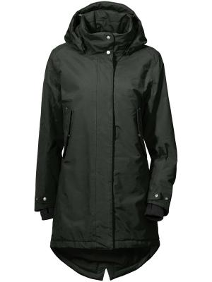 Куртка SARA DIDRIKSONS. Цвет: темно-зеленый