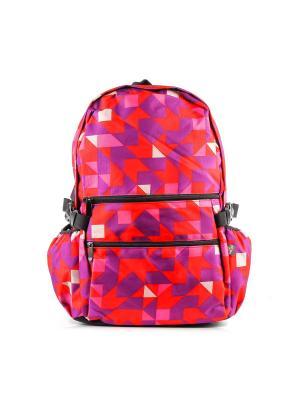 Рюкзак GREZZO. Цвет: красный