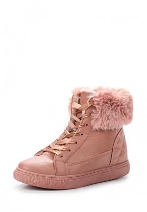 Ботинки Queen Vivi. Цвет: розовый