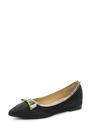 Туфли Ideal. Цвет: черный