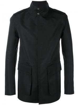 Куртка с накладными карманами Sealup. Цвет: чёрный