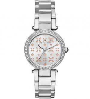 Часы с отделкой кристаллами Michael Kors