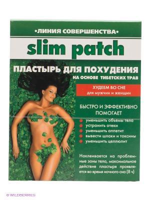 Пластырь BeautyStyle для похудения, (14шт) Beauty Style. Цвет: зеленый, белый