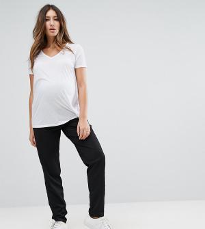 Mama.licious Узкие брюки Mamalicious. Цвет: черный
