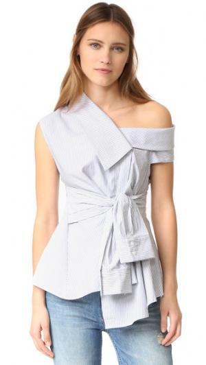 Рубашка Waldorf Acler. Цвет: полоска