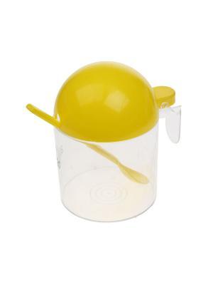 Сахарница, 0,5 л. Migura. Цвет: желтый, прозрачный