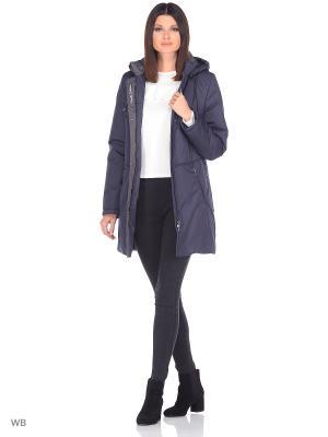 Куртка MIKAELA Maritta. Цвет: синий
