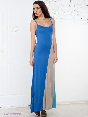 Сарафан La Reine Blanche. Цвет: голубой, бежевый