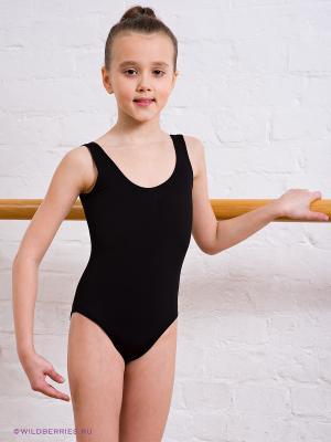 Гимнастический купальник Grishko. Цвет: черный