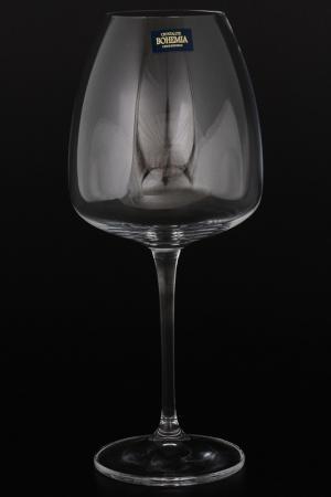 Бокалы для вина 610 мл, 6 шт. Crystalite Bohemia. Цвет: прозрачный