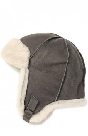 Шапка из овчины Petit Nord. Цвет: серый