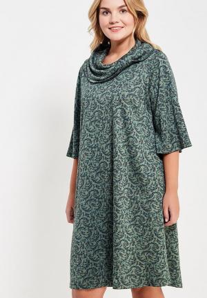 Платье Sparada. Цвет: зеленый