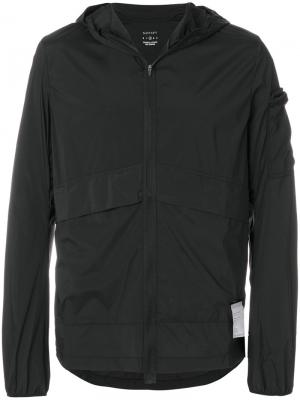 Куртка на молнии Satisfy. Цвет: чёрный
